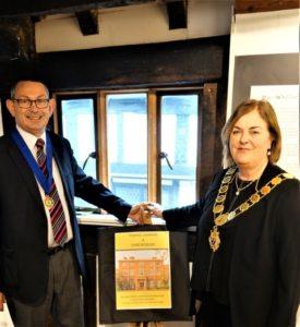 Mayor Jane Mackenzie opening Young Darwin and Shrewsbury